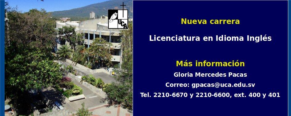 Licenciatura en Idioma Inglés