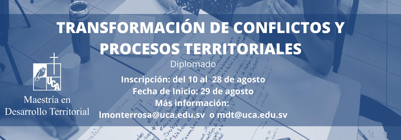 Transformación de conflictos y procesos territoriales